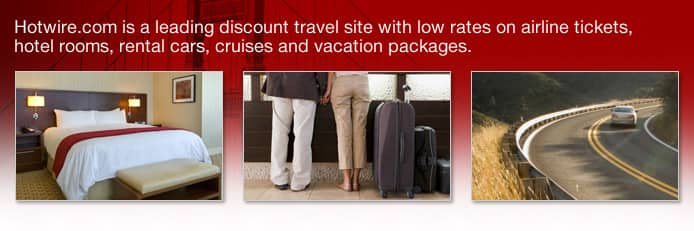 Save on Travel with Discount Airfare, Hotel, Car Rentals ...